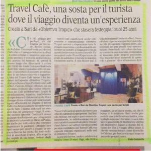 Travel Cafè , una sosta per il turista dove il viaggio diventa un'esperienza